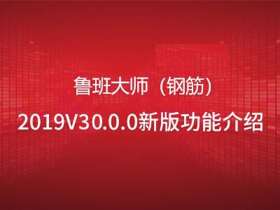 鲁班大师(钢筋)2020V30.0.0新版本功能概述