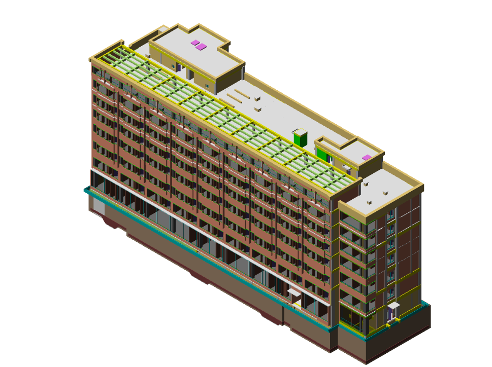 鲁班大师(土建):BIM建模案例(三)