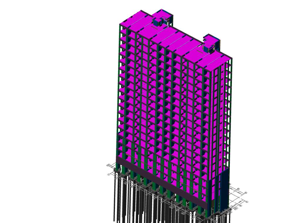 鲁班大师(钢筋):BIM建模案例(四)