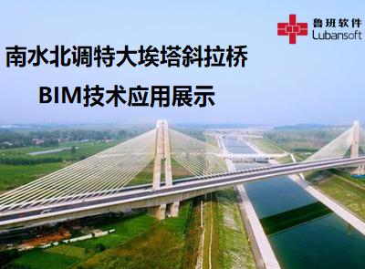 南水北调特大埃塔斜拉桥:BIM技术应用展示