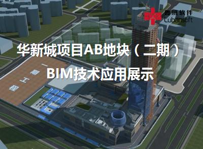 华新城项目AB地块(二期):BIM技术应用展示