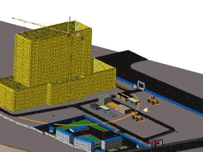 鲁班场布:BIM建模案例(二)