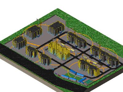 鲁班场布:BIM建模案例(三)