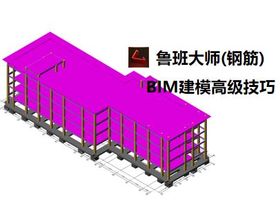 鲁班大师(钢筋):BIM建模高级技巧