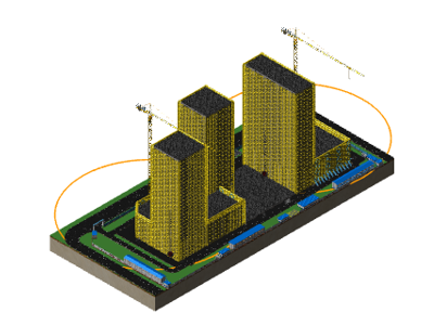 鲁班场布:BIM建模案例(一)