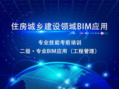【二级·专业BIM应用】2020年8月住房城乡建设领域BIM应用专业技能在线考核考前培训