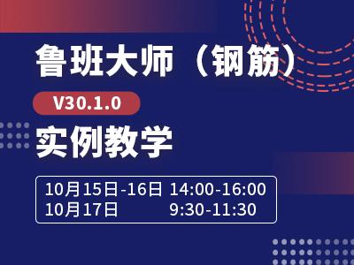 鲁班大师(钢筋)V30.1.0实例教学