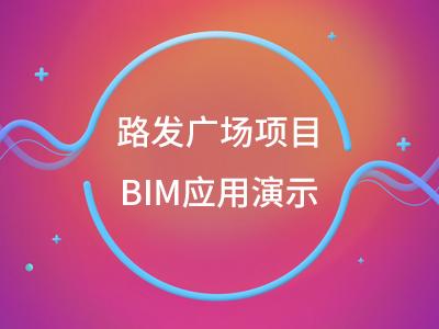 路发广场项目BIM应用演示