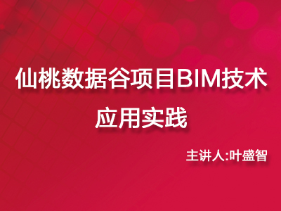 仙桃数据谷项目BIM技术应用实践